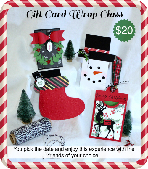 Gift Card Wrap Class
