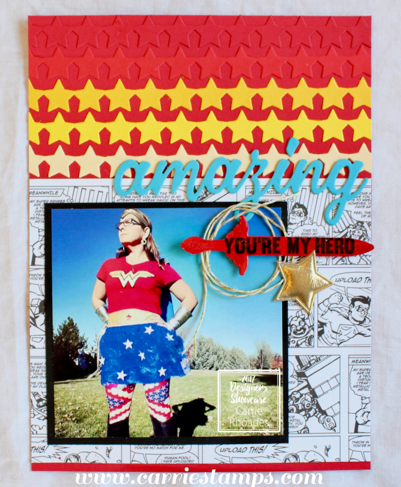 Super amazing scrapbook page