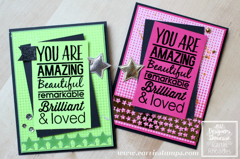 Amazing thank you cards
