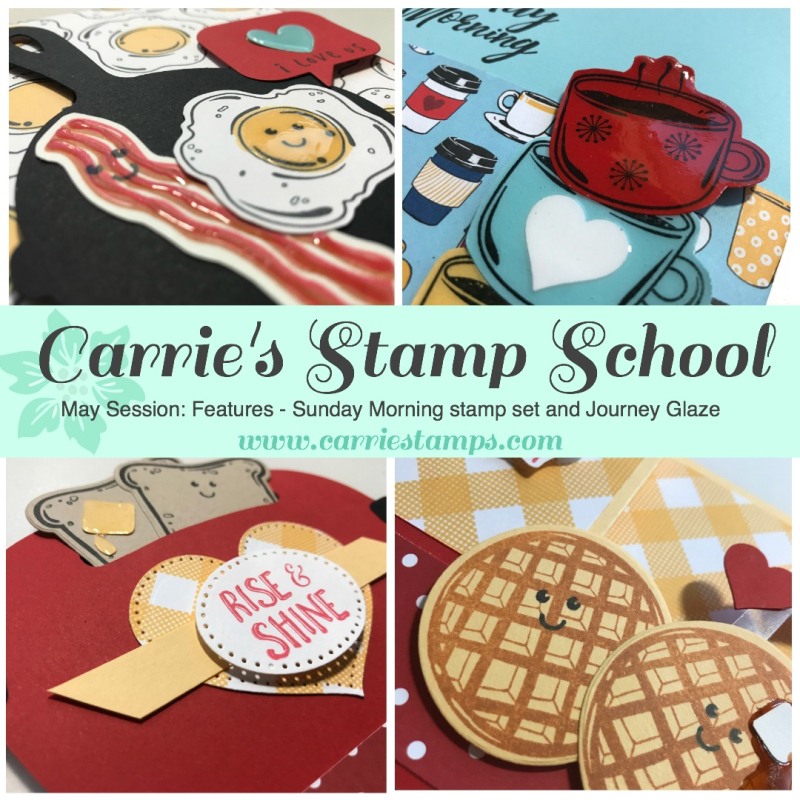 Carrie's Stamp School - May