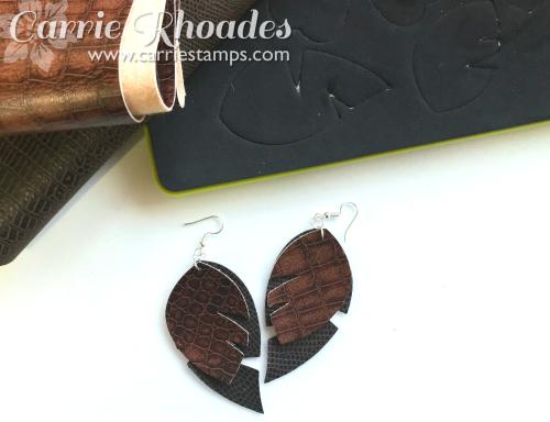 Leather Earrings 2