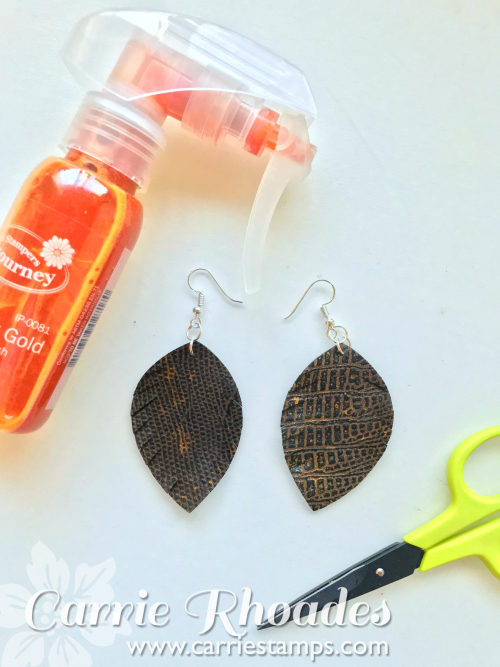 Leather Earrings 1