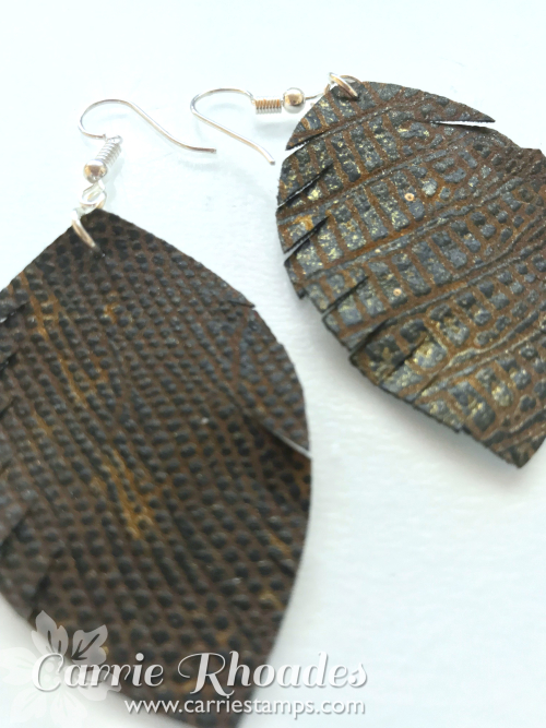 Leather Earrings 6
