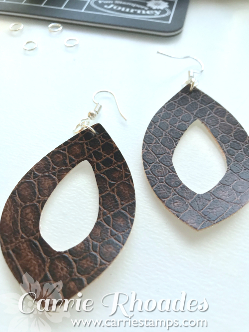 Leather Earrings 5