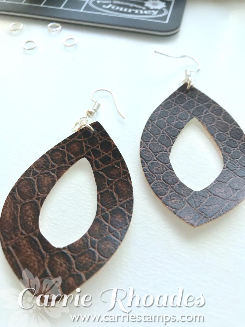 Leather Earrings 5