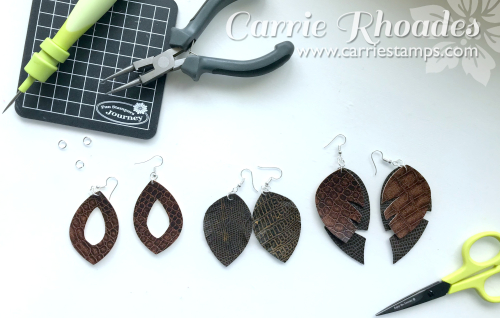 Leather Earrings 7