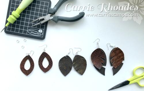 Leather Earrings 7