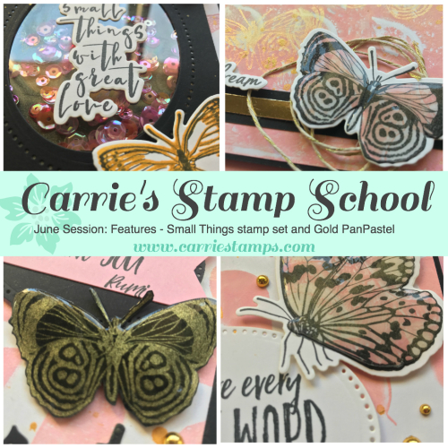 Carrie's Stamp School - June