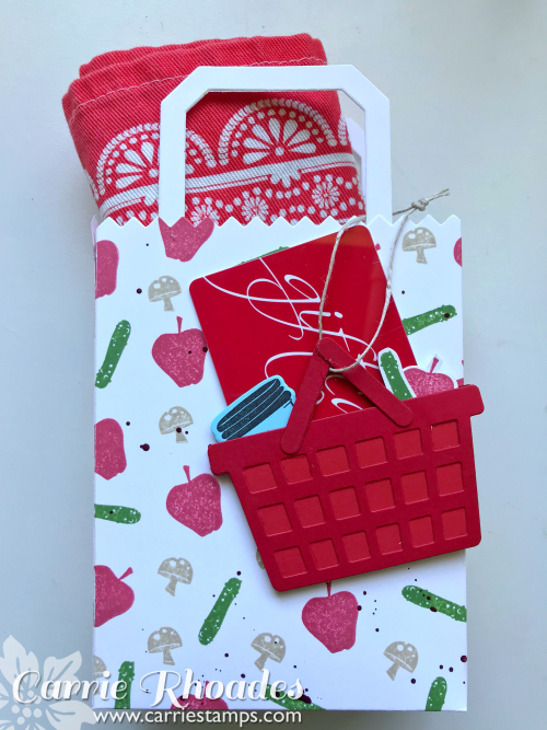 Market Tote Gift Card Holder 3