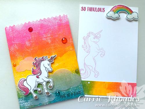 Rainbow Unicorn Card Holder 2