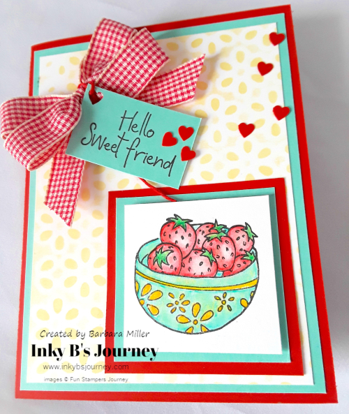 Strawberry bowl card_1