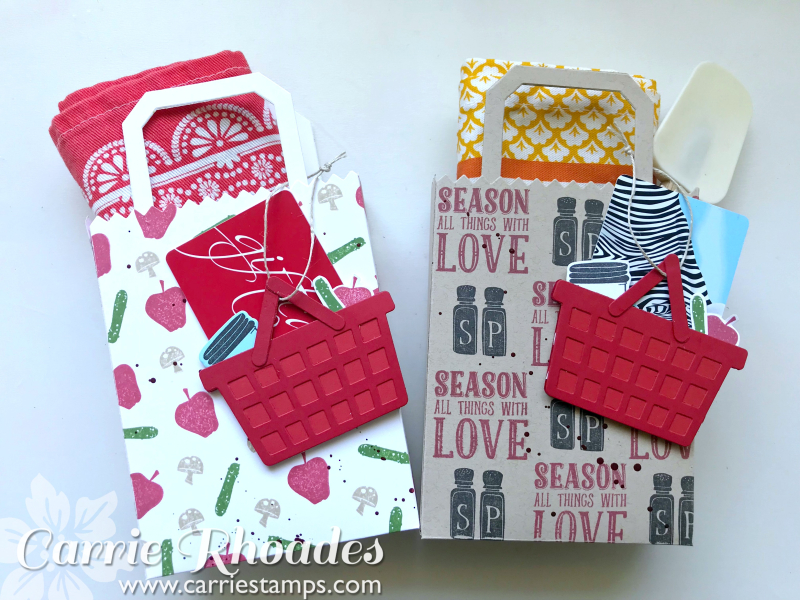 Market Tote Gift Card Holder 1