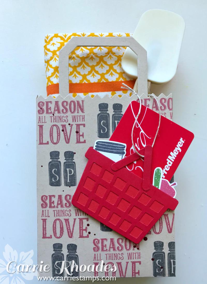 Market Tote Gift Card Holder 4