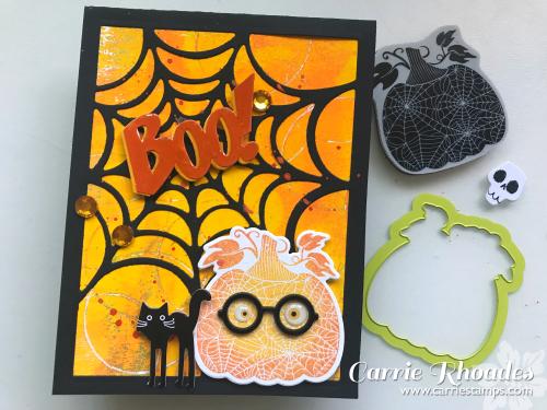Martha's Pumpkins Boo