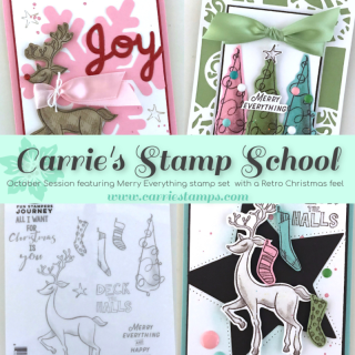 Merry Everything Virtual Stamp Class with Carrie Rhoades
