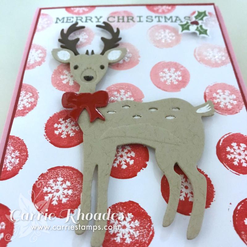 Woodland deer cu