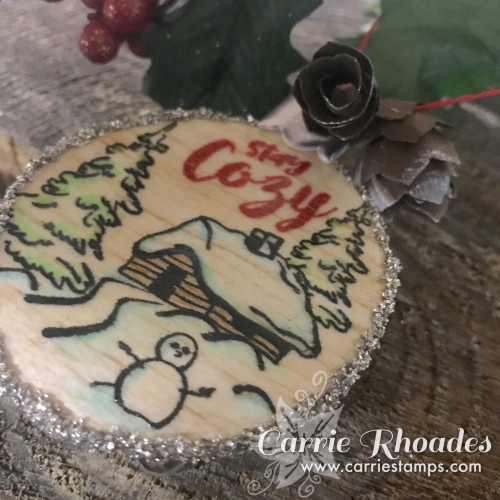 Stay Cozy Ornament 2