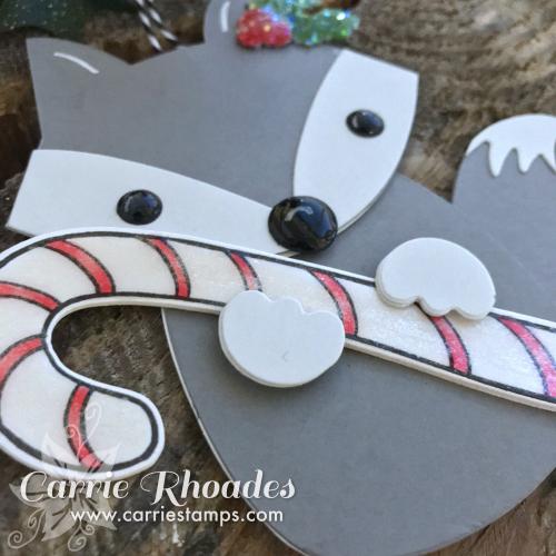 Paper fox ornament 2