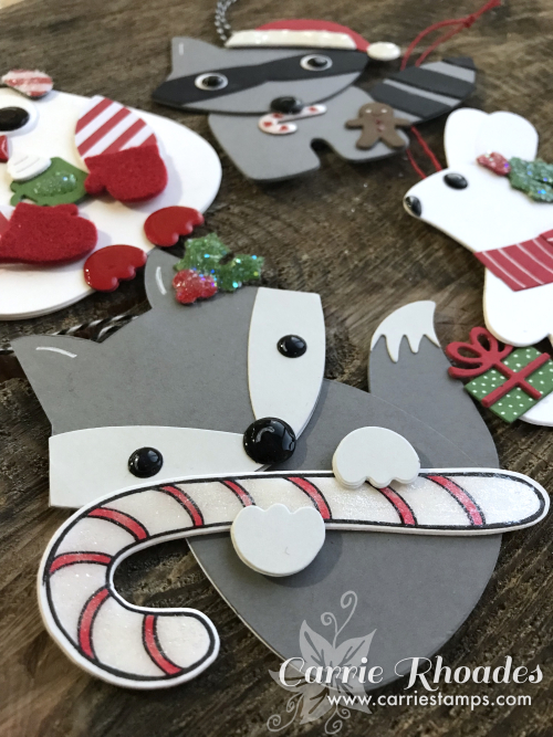 Paper woodland ornaments2