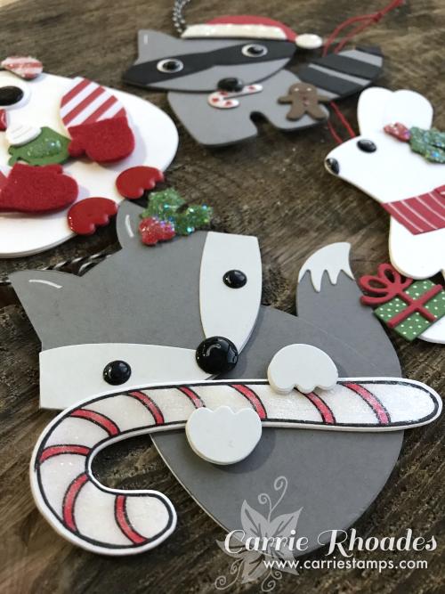 Paper woodland ornaments2