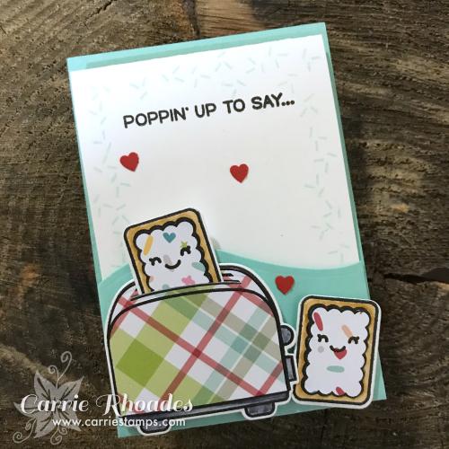 Let's Toast Pocket Card
