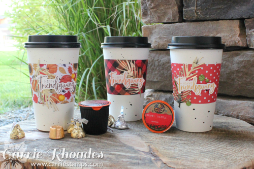 Friendsgiving coffee cups