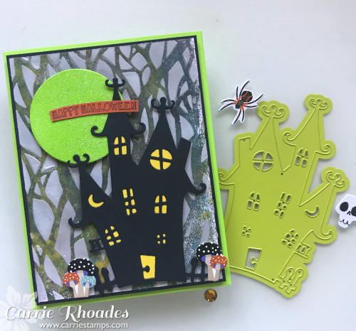 Haunted Forrest card