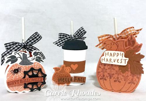 Martha's Pumpkins Sucker Holder