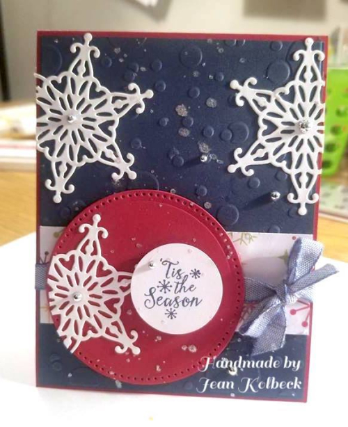 Jean's Merry Everythig card