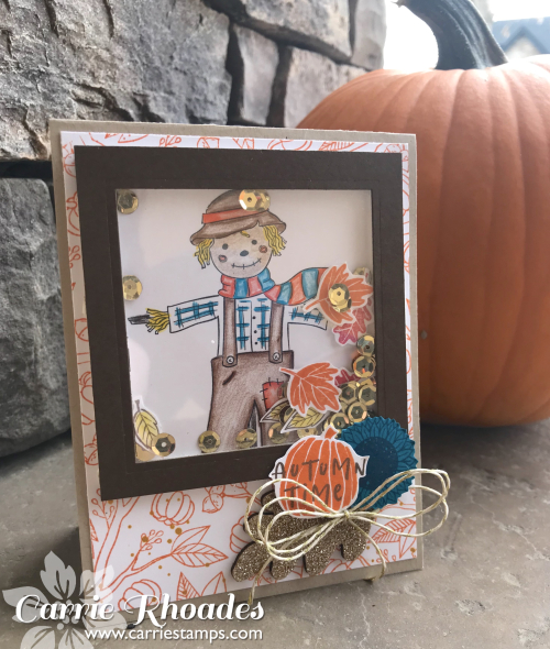 Happy Harvest Shaker Card