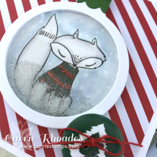 Fox Ornament CU