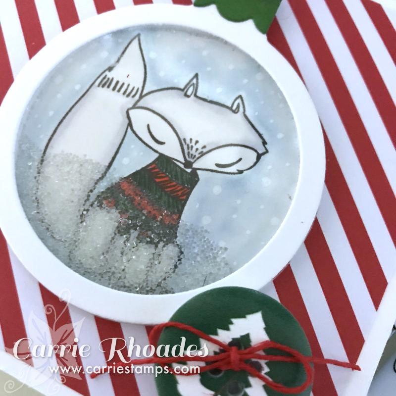 Fox Ornament CU