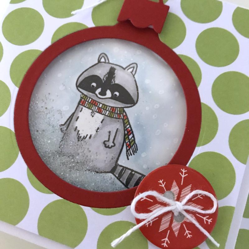 Raccoon Ornament CU