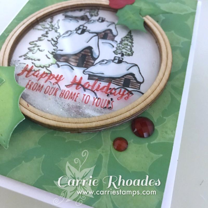 Cozy ornament card 4