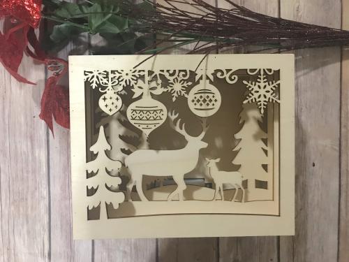 Deer scene 1