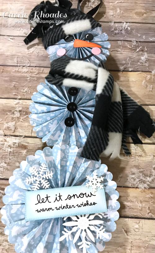 Rosette Snowman 2