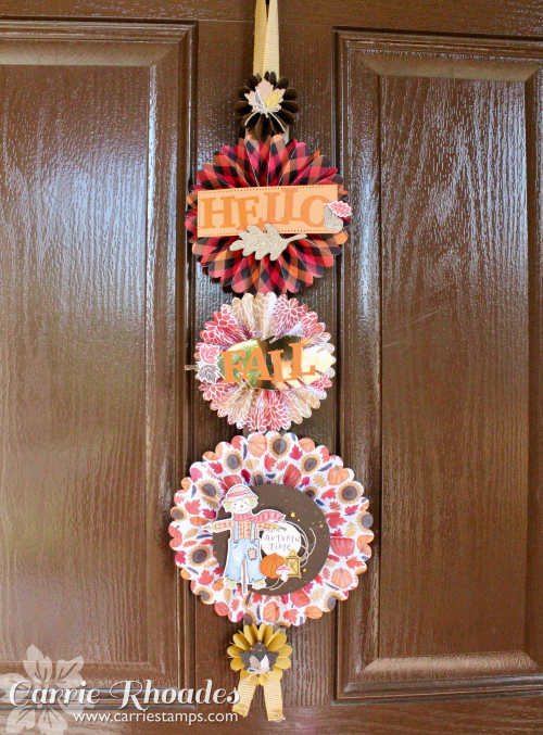 Happy Harvest Door Hanger