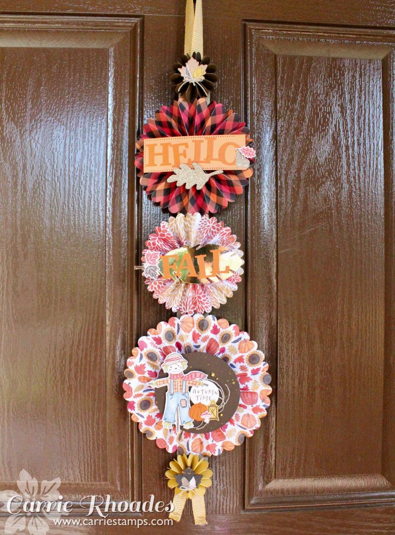 Happy Harvest Door Hanger