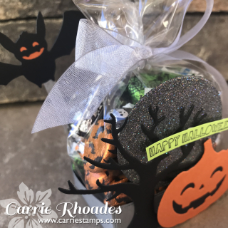 Clear Bag Halloween box 2