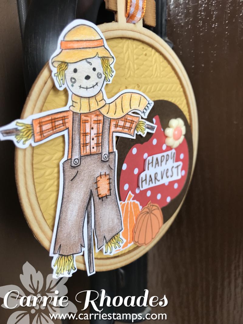 Happy Harvest door knob hanger cu