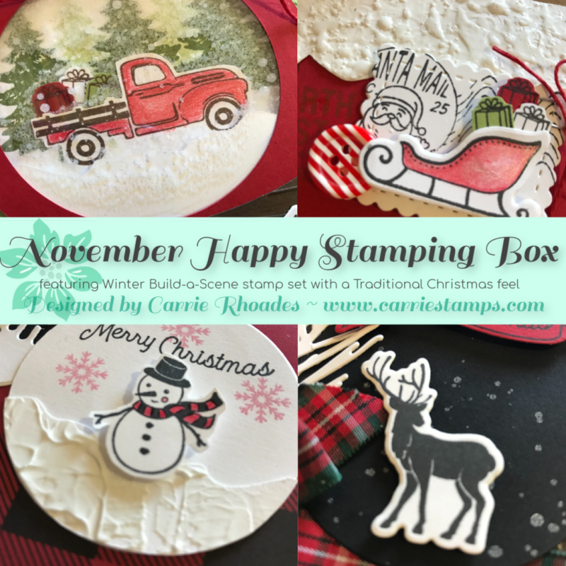 NOV Happy Stamping Box