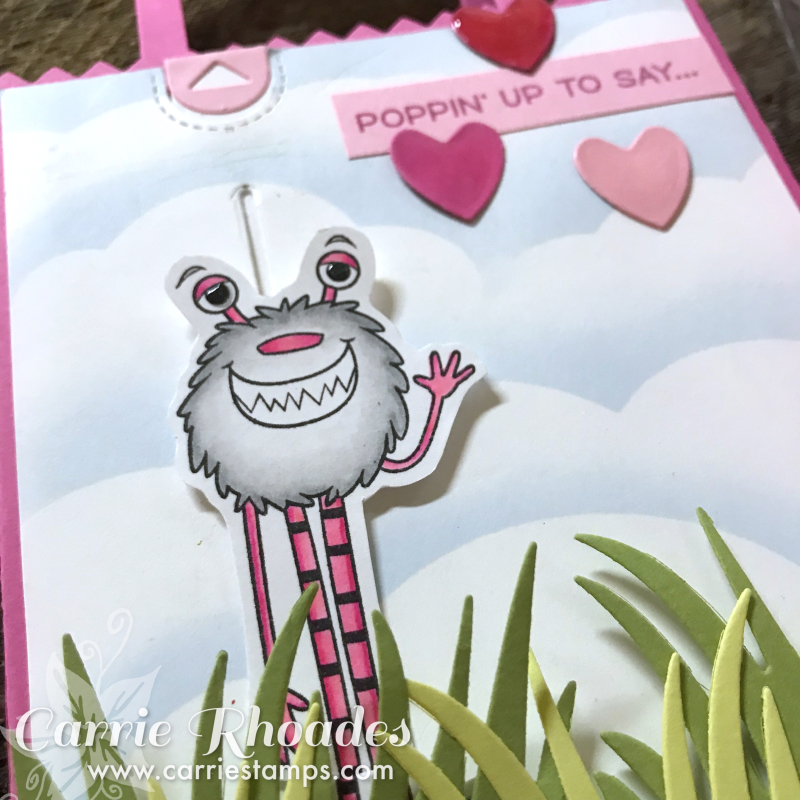 Wild about you pop up bag 3