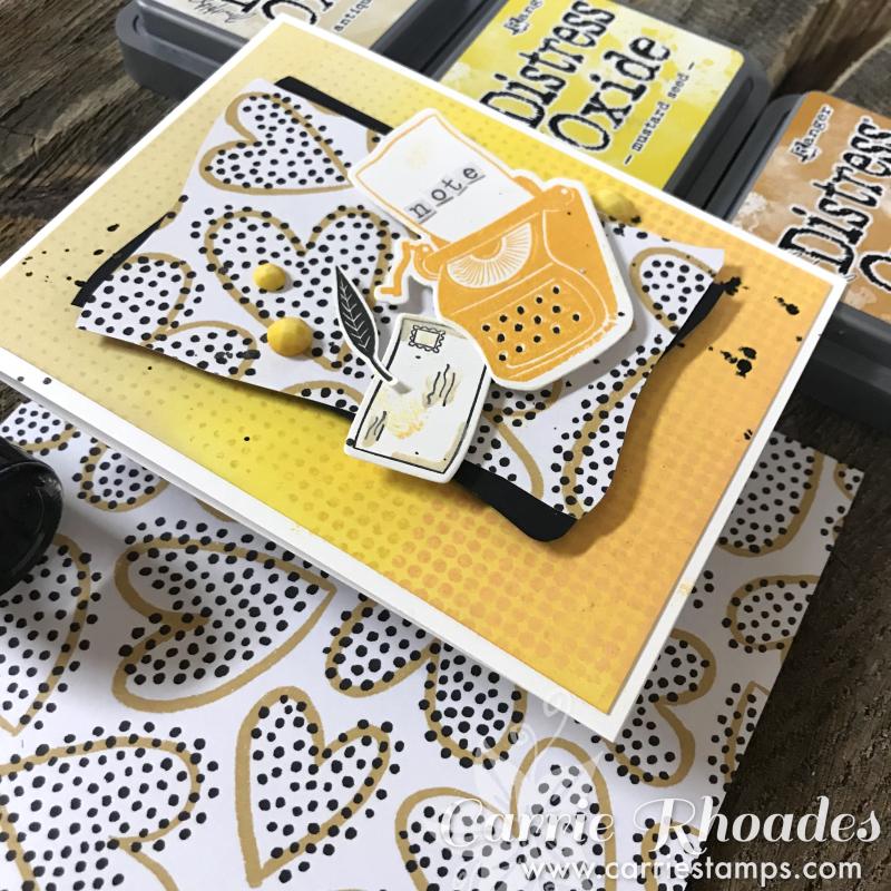 Yellow Typewriter 6
