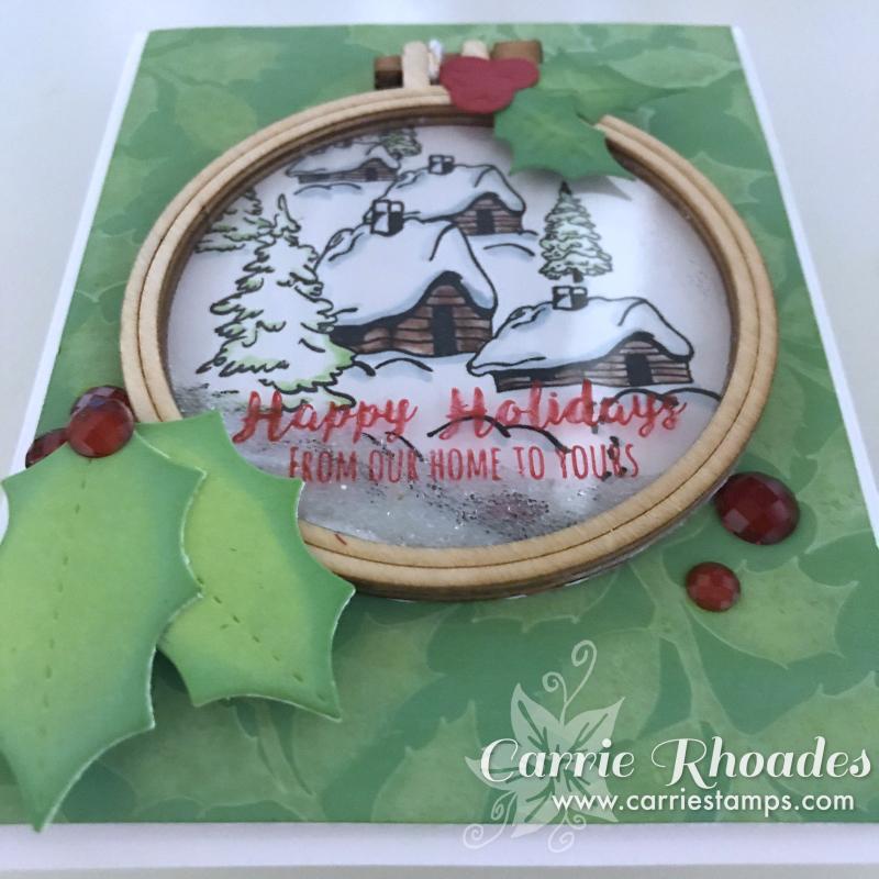 Cozy ornament card 3