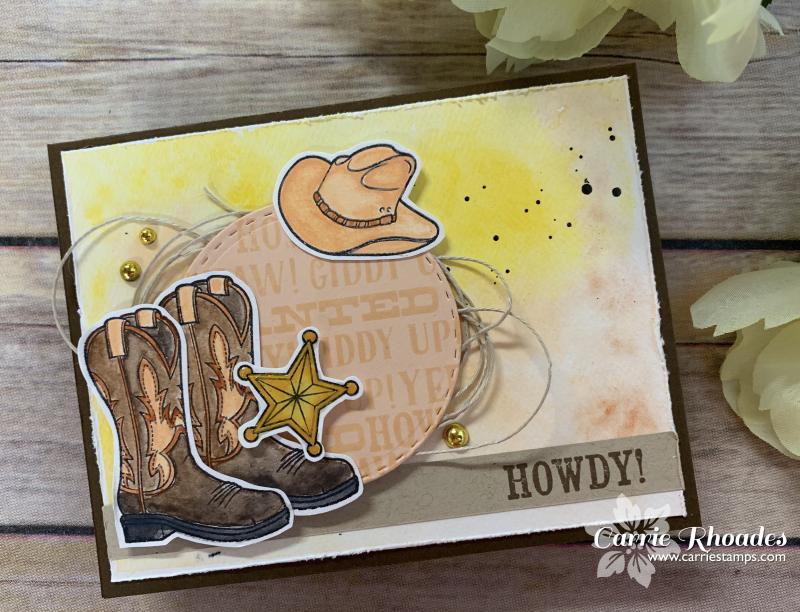 Sketchbox cowgirl card 1