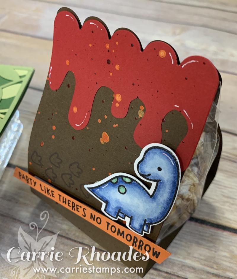 Volcano gift bag