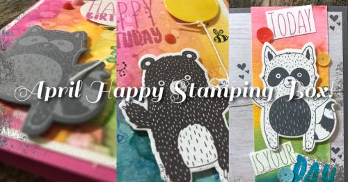 April Happy Stamping Box