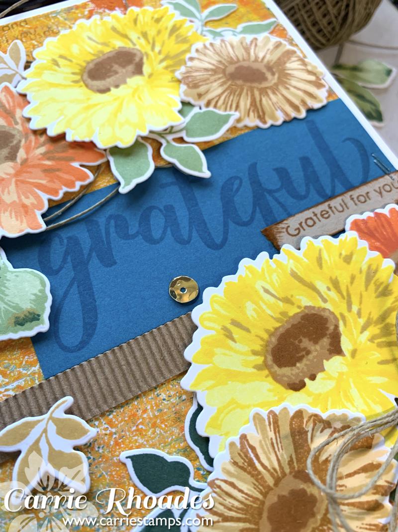 Large Sunflower Daisy Card 3