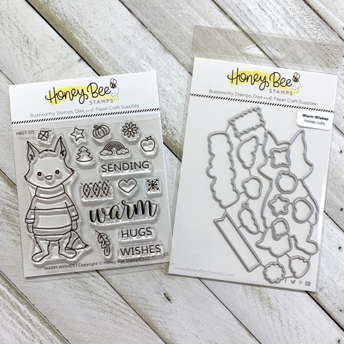 Warm Wishes Stamp and Die Set