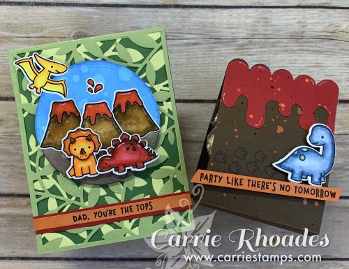Rawrsome Scene card cover